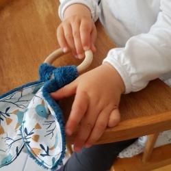 Anneau de dentition lapin - Inspiré Montessori