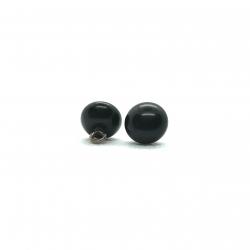 Bouton boule 10 mm - noir