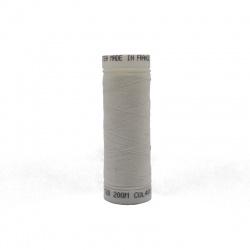 Bobine fil polyester blanc BRUNEEL 200m