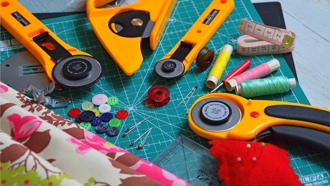 Le matériel incontournable de couture Atelier Les coquettes